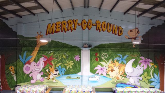 Merry Go Round Sittingbourne Feature Wall